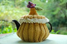 Ravelry: Holiday Tea Cosy pattern by Mrs. Wicks