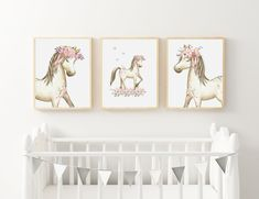 groovy goose by groovygoose on Etsy Kids Room Wall Art, Nursery Wall Art, Bedroom Wall, Horse Print, Art For Kids, New Baby Products, Art Prints, Nurseries, Room Decor