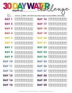 Printable Water Tracker Do you struggle to drink enough water every day? Using the free printable Water Tracker, you can make water drinking part of your daily routine. Meal Plans To Lose Weight, Lose Weight In A Month, Bbg, Printable Planner, Free Printables, To Do Planner, Gym Planner, Routine Planner, Diet Planner