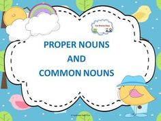 Proper and Common Nouns Creative Teaching, Teaching Ideas, First Year Teachers, Thing 1, Teaching Grammar, Task Cards, Teacher Resources, Phonics, Literacy