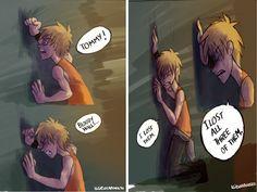 Quando Thomas entra nel Labirinto per salvare Minho e Alby, lasciano Newt. <3 è così puccioso<3333 I LOVE NEWT<3<3<3<3