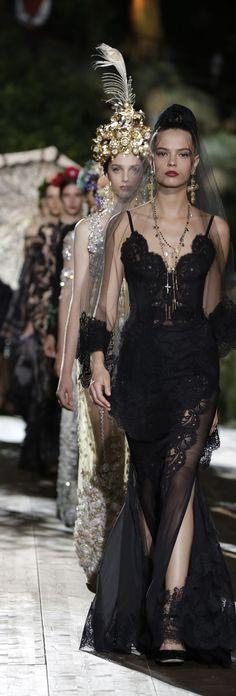 Dolce & Gabbana Alta Moda Fall 2015 | House of Beccaria~