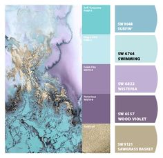 Paint colors from ColorSnap by Sherwin-Williams - Keller Schlafzimmer Color Schemes Colour Palettes, Paint Color Schemes, Colour Pallette, Color Combos, Lavender Color Scheme, Purple Color Schemes, Purple Paint Colors, Teal Paint, Bedroom Paint Colors