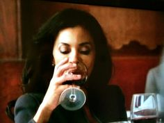Mama Pope likes her red wine!