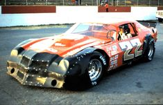 Dale Earnhardt at Greenville Pickens speedway