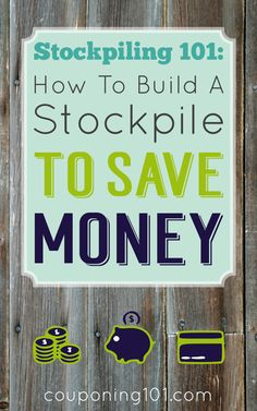 If you build a stockpile and carefully maintain it you can save a lot of money and always have your favorite products on hand! These are realistic tips and strategies for stockpiling to save money. saving money, ways to save money Saving Ideas, Money Saving Tips, Money Tips, Managing Money, Couponing 101, Show Me The Money, Budgeting Finances, Budgeting Tips, Financial Tips
