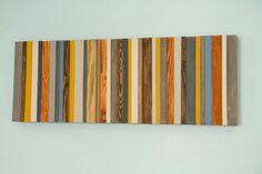 Reclaimed Wood Art Modern office decor par ArtGlamourSligo sur Etsy