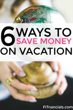 Check out these 5 ways to save money on vacation. This is such a helpful list.
