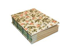 English Rose Handmade Journal on Etsy Coptic by Thenibandquill, $37.00
