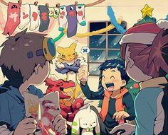 Carter Matthews (@passionatesketc) | Twitter: #otakulife #Otaku #digimon #DigimonAdventureTri MERRY CHRISTMAS TO ALL, #HappyHolidays !!