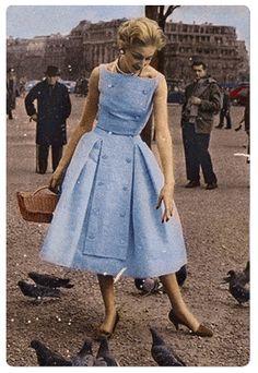 Givenchy Blue Vintage Dress
