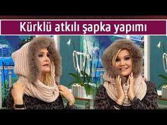 Kürklü atkılı şapka yapımı – Deryanın Dünyası – 9 Ocak 2015 - YouTube