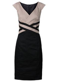 Vestido tubinho preto/cinza escuro encomendar agora na loja on-line bonprix.de…