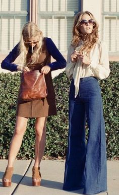 Winterised '70s Women's Fashion