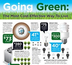 Going Green the most cost effective way to live