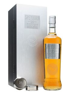 Speyburn 25 Year Old / New Presentation : Buy Online - The Whisky Exchange - After its well-deserved plaudits at the 2012 World Whisky Awards it was only a matter of time before the Speyburn 25 got a bump, and this edition combines all of the great flavour of the earlier ve...