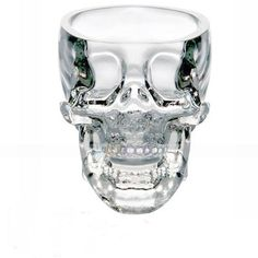 New Crystal Skull Head Vodka Whiskey Shot Glass Cup Drinking Ware Home Bar | eBay