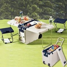 Convertible Cooler/Picnic Table