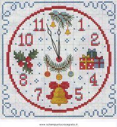 schema punto croce natalizio - Cerca con Google