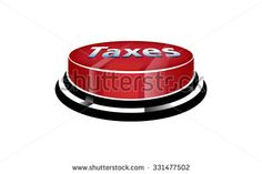 Stop Taxes Button Stock Vector (Royalty Free) 331477502