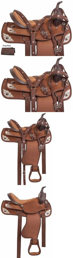 Saddles 47291: Brown Light Weight 15 16 17 18 Trail Horse Western Pleasure Saddle Tack Pad -> BUY IT NOW ONLY: $142.49 on eBay!