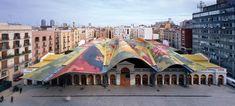 Mercado de Santa Caterina, Barcelona.