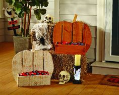 A Festive DIY/ DIH Rustic Pumpkin Stand! ⋆ Brite and Bubbly