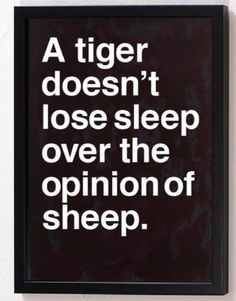 Are you a Tiger or a Sheep? #littlebizkeeper #business