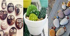 Lek loss med färg och sten – 19 roliga pysselidéer