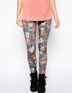 #LEGGINGS #floral