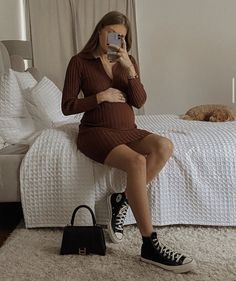 Balenciaga Bag, Maybe One Day, Pregnancy, Sweaters, Future, Dresses, Style, Selfie, Mood