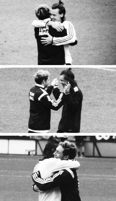 Awh awh awh so cute! #TeamNiall (Niall's charity football match in Leicester 5.26.14)
