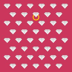 diamonds are a girl's best friend  illustration by Samar Khanafer// all rights reserved
