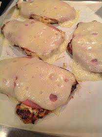 Happy Texans: Low Carb Chicken Cordon Bleu. Sounds super easy and fast