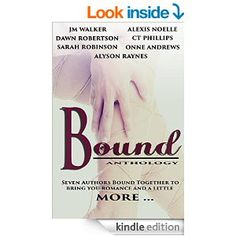 THE BOUND ANTHOLOGY IS NOW LIVE!!   Go ‪#‎1click‬ this amazing collection of books for only ‪#‎99cents‬! All proceeds go to Susan G. Komen Breast Cancer Research! It will only be available for one week! Spread the word!!