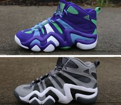 adidas Basketball Crazy 8-Grey & Purple