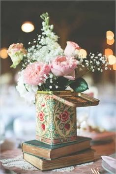 Resultado de imagen para table decor ideas for tea party