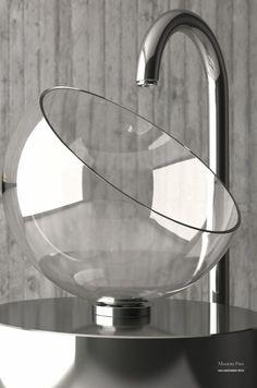 Накладная раковина Moon, Glass Design