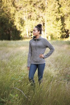 Harley Pullover from Knit Picks. Love the shape and cables! Free Knitting, Knitting Patterns, Crochet Patterns, Knitting Stitches, Knitting Yarn, Knitting Projects, New Harley, Cable Sweater, Knit Sweaters