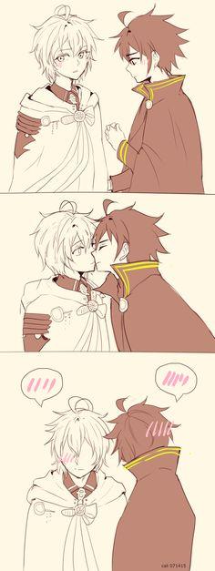 ons: kiss kiss fall in love by califlair