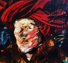 Painting by Frans Smit (represented by Art in the Yard at SAADA Cape Town Expo)