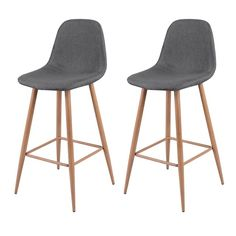 Tabouret de bar Fredrik (lot de 2) - 123€