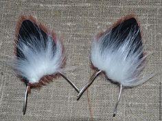 Шьем лисьи ушки, которые не отличить от настоящих - Ярмарка Мастеров - ручная работа, handmade