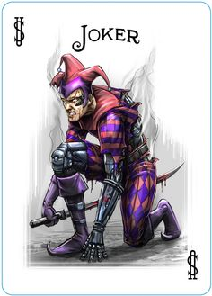 The Joker from the Synthesis deck