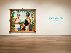 Kehinde Wiley at SCADMOA