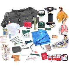 Stansport Deluxe Emergency Preparedness Kit - Overstock Shopping - The Best Prices on Emergency Kits