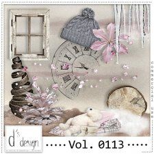 Vol. 0113 - Winter Mix  by Doudou's Design  #CUdigitals cudigitals.comcu commercialdigitalscrapscrapbookgraphics #digiscrap