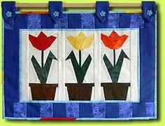 Tulpen (Quilt von Guilitta)