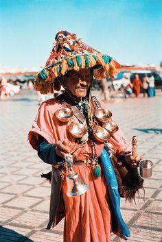 Moroccan water seller  #People of #Morocco - Maroc Désert Expérience tours http://www.marocdesertexperience.com