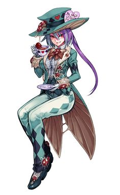 Steampunk Mad Hatter Woman | Mad Hatter - Monster Girl Encyclopedia Wiki - Wikia